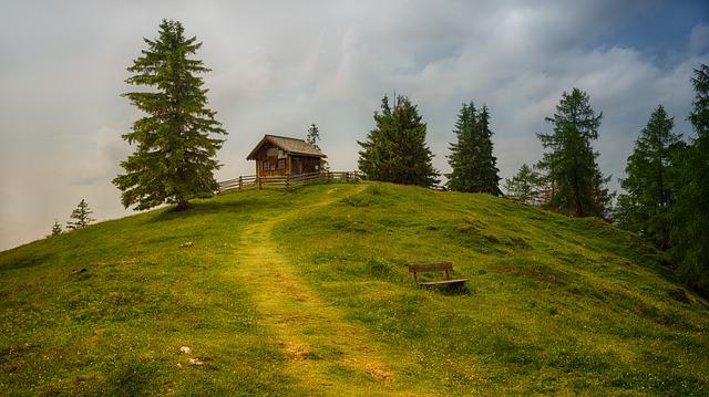 chata na kopci