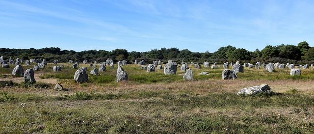kameny v Bretani