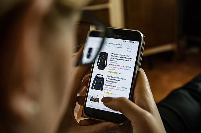online nakupování oblečení