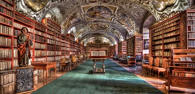 knihovna kláštera